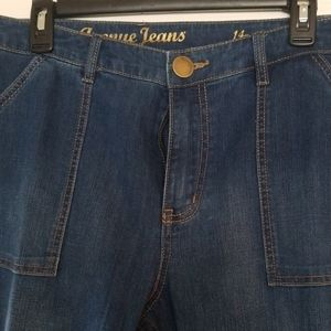 Jeans, never wore